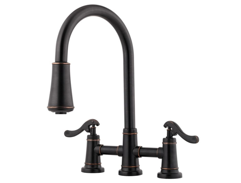 Opt. Upgrade Gooseneck Pull-Out Faucet | R-Anell Homes