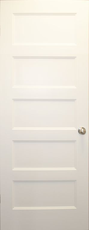 Std 5 Panel Craftsman Interior Door R Anell Homes