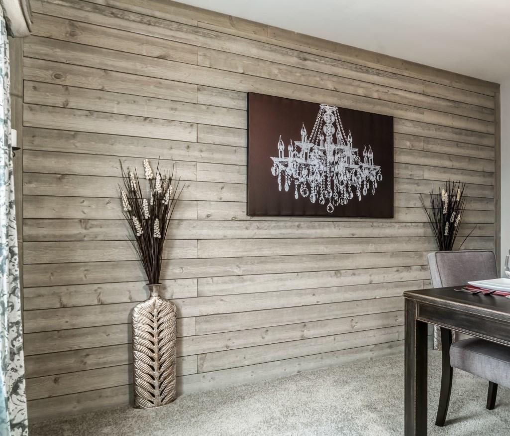 Bedroom Accent Wall Shiplap