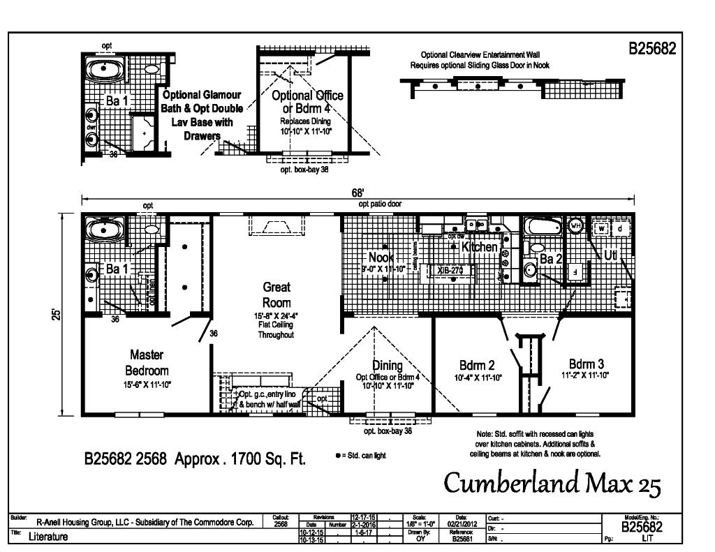 Blue Ridge Max Cumberland B25682 Find A Home R Anell Homes Actually Prefer To Get Several Copies Of My Floor Plan And Draw Each Allows You Choose The Same Floorplan From 1700 Sqft 2040 With Great Optional Kitchens Baths An Guest Closet Foyer